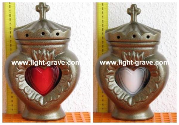 Ceramic Grave LampsCeramic Grave LightCeramic Memorial Candle - Ceramic memorial photos