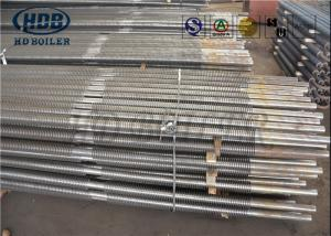 China Stainless Steel Spiral Boiler Heat Exchanger , Boiler Repair Parts Fin Tube ASME Standard on sale