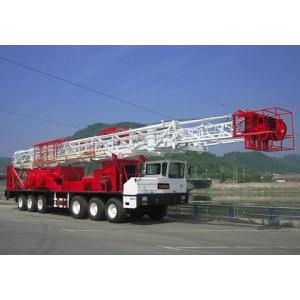 China Electric Land Oil Petroleum Drilling Rig ZJ50 With Disc / Belt Brake on sale