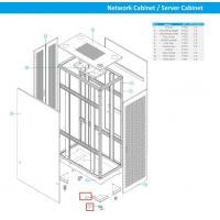9 Folder Channel Steel Cabinet Frame Rack To Make Network Cabinet / Rack Cabinet