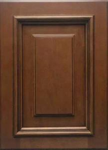China Birch solid wood amrica size  raised panel styles kitchen cabinets on sale