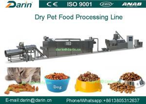China Dry method pet dog food production line making machine on sale