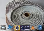 Black / Brown PTFE Coated Fiberglass Fabric Open Mesh Conveyor Belt