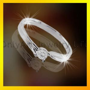China fashion design ladylike 925 sterling silver ring ,CZ jewelry on sale