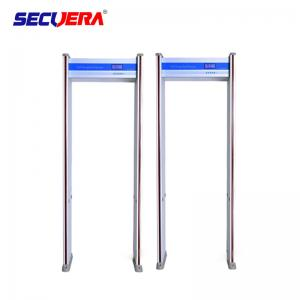China 6 zones cost effective high and stable detection performance archway door frame metal detector for airport on sale