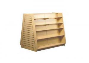 Quality Tipo apilado ahorro de espacio libre de madera del soporte de exhibición de for sale