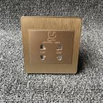 Dual Interface Conversion Razor Electric Shaver Socket For Hotel 220 Volt