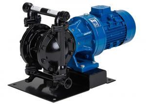 China Cast steel Electric Diaphragm Pump for high temperature liquid fluid on sale