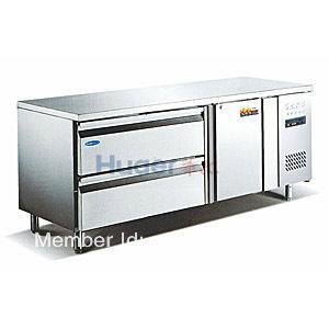 China commercial kitchen equipment kitchen freezer fresh table on sale