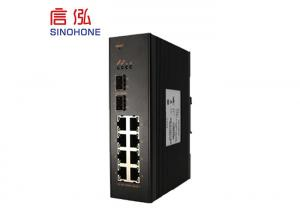 China Managed PTN Ring Fiber Optic Network Switch Install With Guide Rail on sale