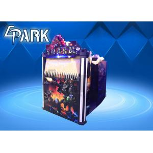 China Amusement Gun Arcade 4d Alien Swarm Infrared Shooting Game Machine for Couples on sale