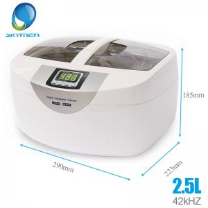China 2.5L Digital Dental Ultrasonic Cleaner With 100W Heat Power Medical Tool on sale
