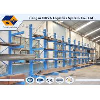 China 1000 - 3000 Kg Single Sided Cantilever Rack on sale