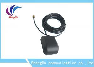 China Magnetic Mounting Auto GPS Antenna Car DVD GPS Navigation 28dBi Gain Dextral Polarization on sale