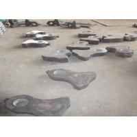 China Cr-Mo Alloy Steel Crusher Wear Parts Jaw Plates For Jaw Crushers on sale