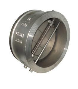 China Stainless Steel Material Wafer check valve with Flanged Connection on sale