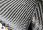 3K 200g 0.3mm Twill Weave Carbon Fiber Fabric For Reinforcement , Thermal Insulator Materials