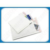 China Non-Toxic Glossy White Kraft Paddedbubble Mailers Self-Seal Mailing Envelopes on sale