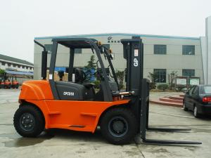 China Double-turbine torque converter JGM755C dump loader 5 Ton Forklift Truck on sale
