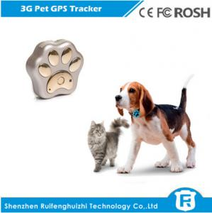 China Waterproof anywhere 3g gps tracker for dog Reachfar RF-V40 support 2G/3G network on sale