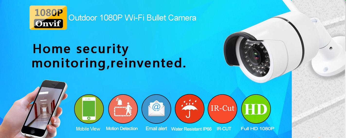 Wansview Onvif Outdoor Full HD 2 0 Megapixels IP Camera Surveillance
