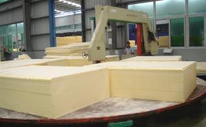 China Auto Circle Fast Wire CNC Foam Cutting Machine Horizontal Digital Control on sale