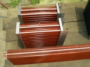 China copper tube copper fin evaporator on sale