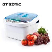 China Vegetable Fruit GT SONIC Cleaner Ultrasonic / Ozone Sterilization 12 . 8L on sale