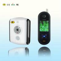 Handheld Digital Wireless Video Doorphone / Doorintercom With CMOS Camera Black