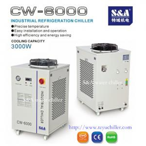 China recirculating water chiller for RF tube S&A CW-6000 on sale