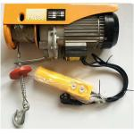 1000kg Electric Wire Rope Hoist With Small Button Control Pa200 Pa500 Pa1000