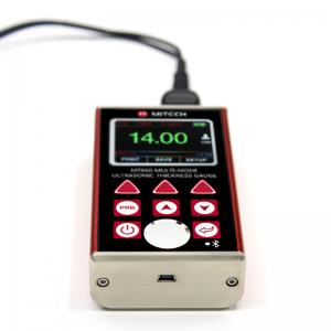 China Adjustable Backlight Steel Thickness Gauge With Internal Bluetooth Module MT660 on sale
