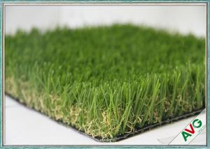 China Multi - Function Outdoor Artificial Grass For Kindergarten / Garden Decoration on sale