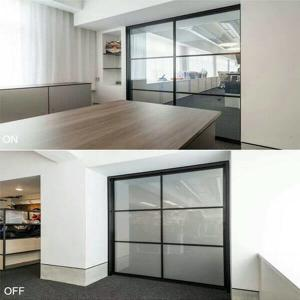 China electric switchable glass doors dallas  EB GLASS supplier