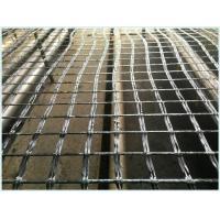 China (Tensile Strength 25kn-300kn)Bitumen Coated Fiberglass Geogrid for Asphalt Reinforcement on sale
