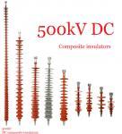 Composite Polymeric Silicone Rubber Insulator 500kv Creepage Distance 17600mm