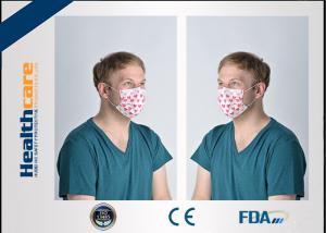 China EN14683 Medical Disposable Face Mask Mouth Cover Mask Non Woven Multi Colored on sale