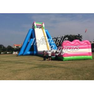 China Largest Inflatable Backyard Water Slide Playground Game , 100lbs - 5000lbs on sale