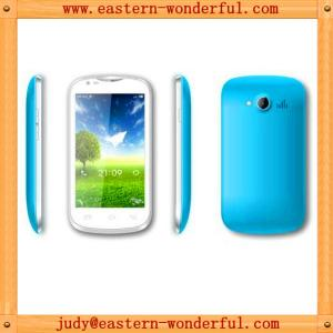 China Buy 4'' 3g dual core QC8225A galaxy smartphone android support wifi and GPS and blutooth on sale