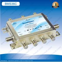China 2 satellite IF inputs selected by 13V/18V signal 3 x 6 satellite multiswitch on sale