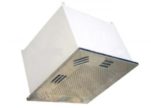 China Clean Room Ceiling Duct Filter Box Fan Hepa Filter For Furnace / Pharmacy on sale