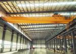 50 Ton Warehouse Steel Overhead Crane Double Beam With Ce Certification