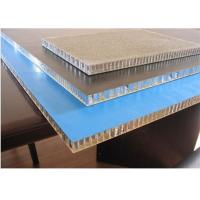 Light Honeycomb Aluminum Panels For Construction Material / Building Material