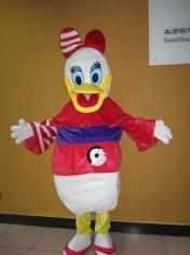 Quality custom disney cartoon character daisy plush uniform costumes  for sale