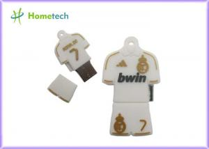 China 8GB 16GB 32GB 64GB USB 2.0 Flash Memory Disk Football Clothes Real Madrid USB on sale
