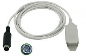 China Biosys BPM300 Pulse Oximeter Finger Sensor / Probe 6 Pin Conector TPU Material on sale