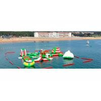 Customized Kids Giant Inflatable Water Park for Sea / Lake / Ocean