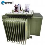 High Power Liquid Immersed Transformer / Encapsulated Three Phase Power Transformer