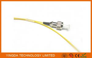 China Fiber Optic Pigtail FC singlemode 0.9mm 1meter Yellow Color Cable PVC G652D on sale