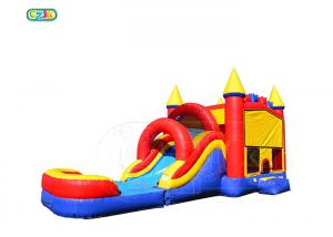 China PVC Tarpaulin Bouncy Castle Obstacle Course Waterproof Inflatable Combo on sale
